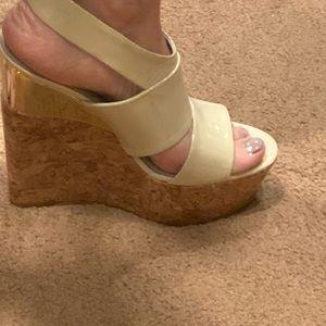 Alice and Olivia wedge heels